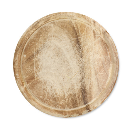 cutting board: Round cutting board