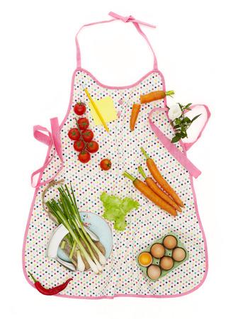 kitchen apron: Kitchen apron concept