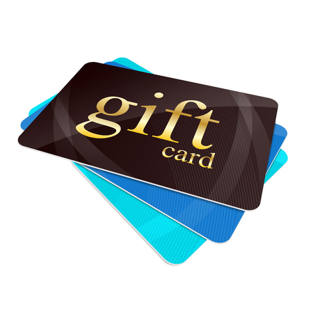 Gift cards Banque d'images
