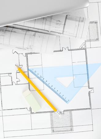 compas de dibujo: proyecto planos