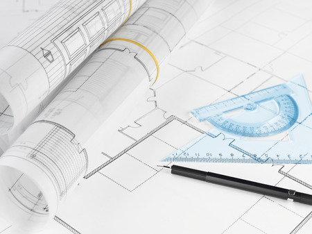 home addition: Housing project Stock Photo