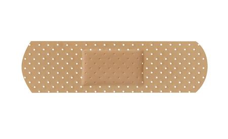adhesive bandage: Adhesive bandage Stock Photo