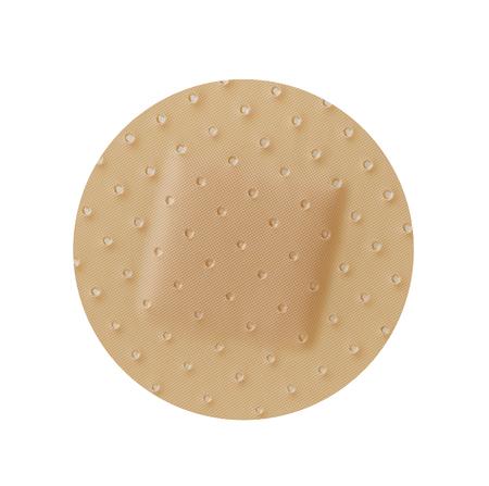 round: Round bandage Stock Photo