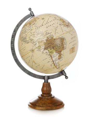 old world: Old world globe