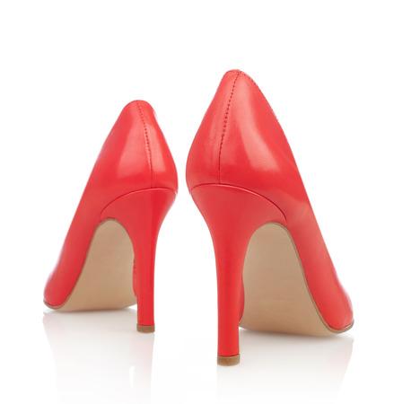 peep toe: High heels back view