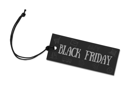 price label: Black friday tag