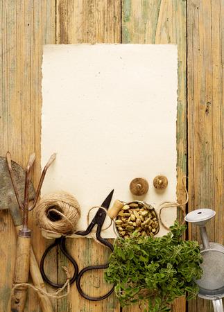 equipment: Gardening equipment Stock Photo