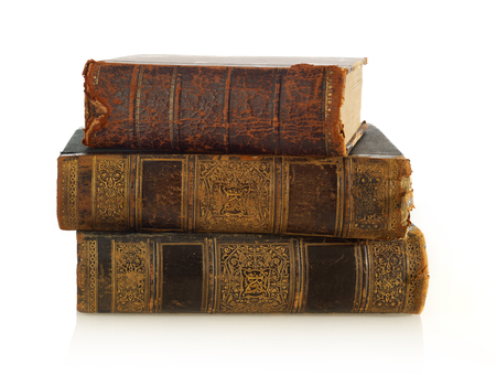 antique books: Antique books stack