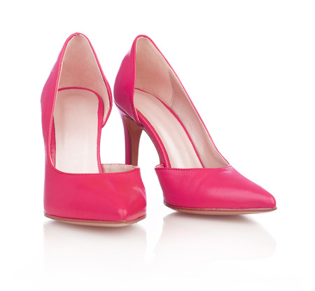 peep toe: Womans dress shoes Stock Photo