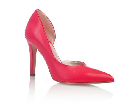peep toe: High heel shoe