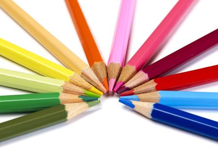 entertainment equipment: Pencils close-up