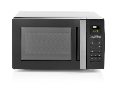 Microwave oven isolated on white Stock fotó - 68828847