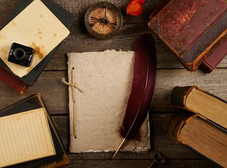 antique books: Antique books concept