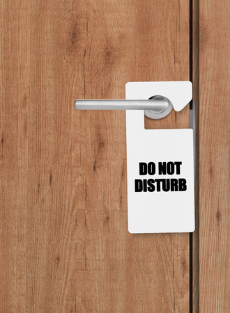 inconvenience: Do not disturb