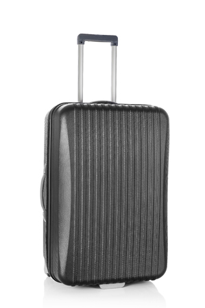 personal accessory: Black suitcase