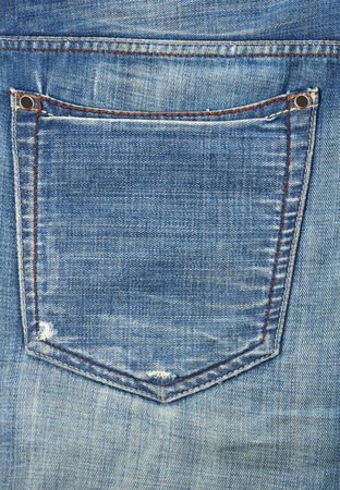 Jeans pocket Banco de Imagens