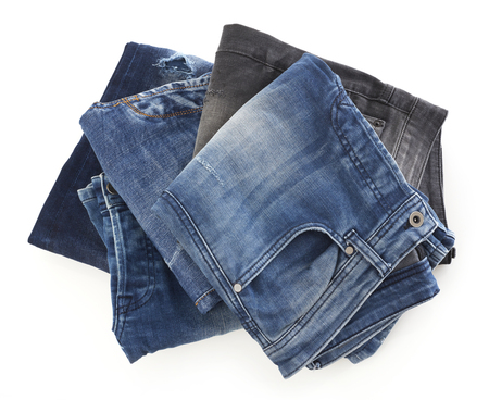 washed out: Jeans Stock Photo