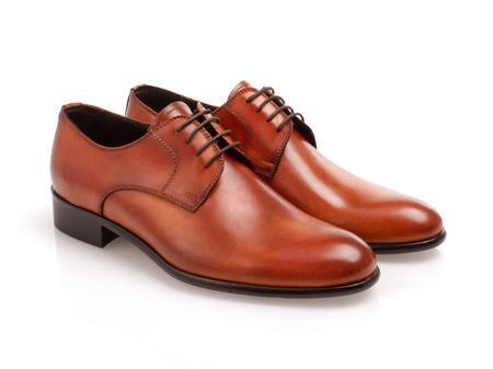 Zapatos de cuero para hombres Foto de archivo - 78816131