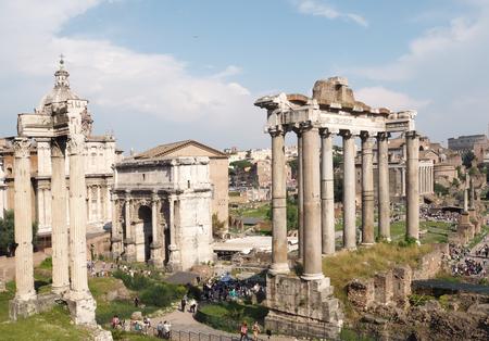 severus: Forum Romanum, Rome