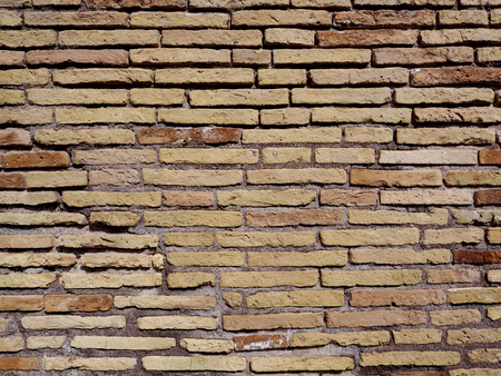 building feature: Old brick wall