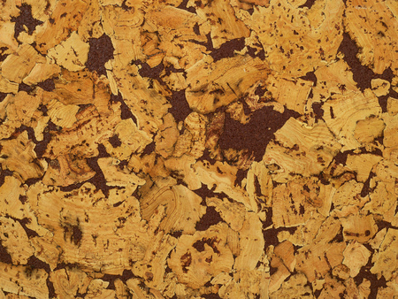 Cork texture surface
