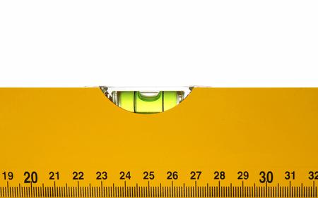 Spirit level closeup Standard-Bild