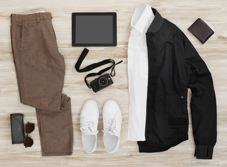 Casual clothing and accessories