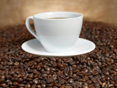 コーヒー豆のコーヒー