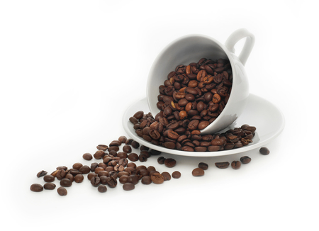 コーヒー豆のコーヒーのカップ