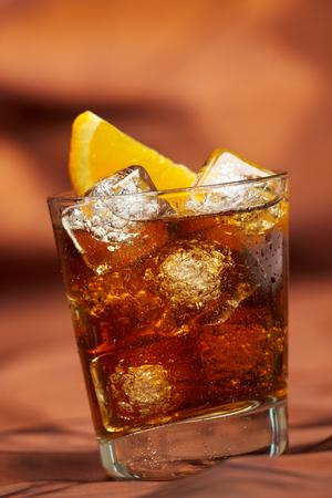 Whiskey with orange