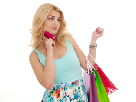 All you need is shopping bags and a credit card