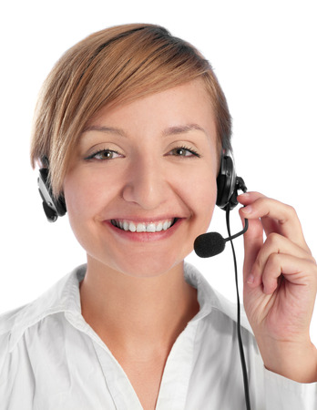 customer service representative: Customer service Stock Photo
