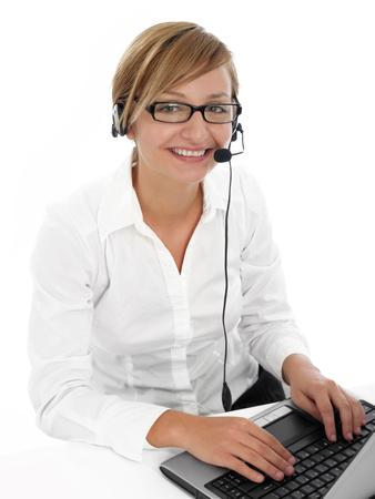 customer service representative: Call center worker