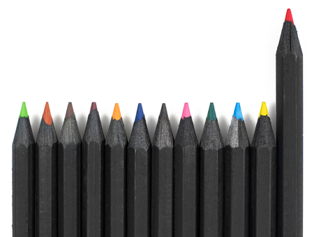 Multi-colored pencils