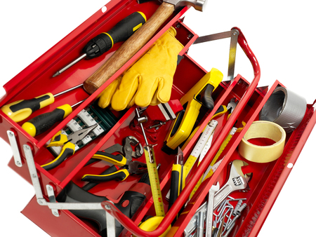 new addition: Toolbox full with tools
