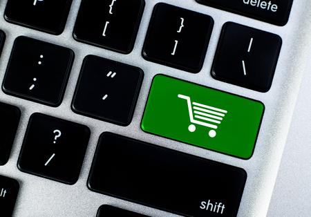 Shopping button concept