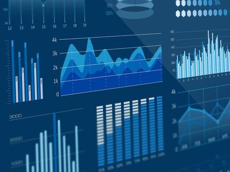 Business statistics graphs