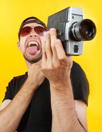 Insane cameraman concept