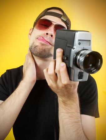 Old camera operator