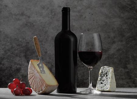 Wine tasting concept