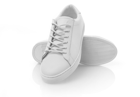 New white shoes 스톡 콘텐츠