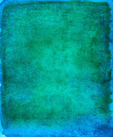 blue and green watercolor stroke background