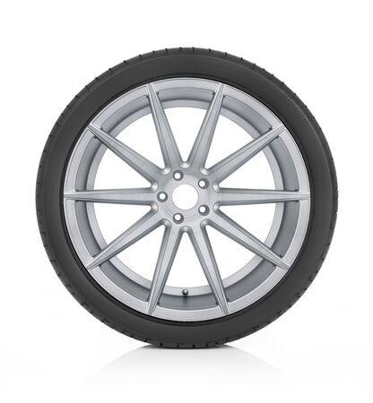 Car mat wheel and rim