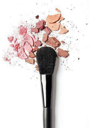 Eye shadow and make-up brush