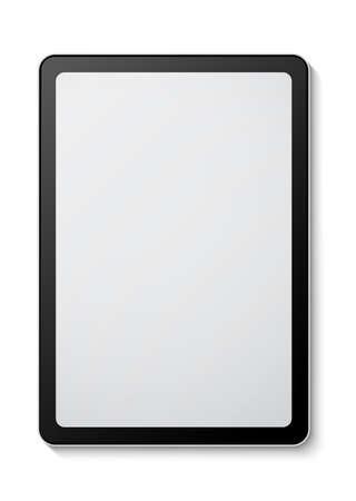 Digital tablet mockup on white background 免版税图像