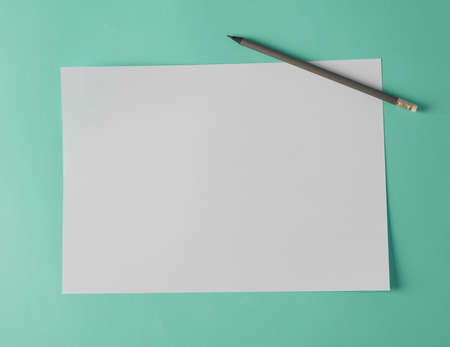 New blank white A4 paper