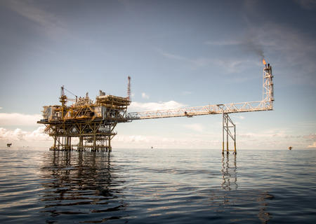 platform: Oil and gas platform with gas burning, Power energy.