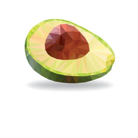Avocado Fruit Ilustrace