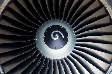 close up Jet engine front view Reklamní fotografie