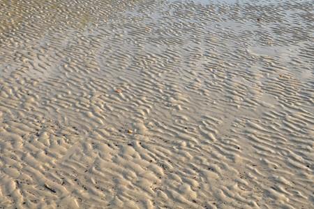sand wave on the beach Stock Photo - 7024206